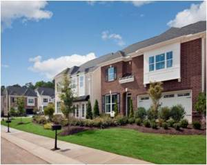 GlenLake Gardens model home in Raleigh, NC